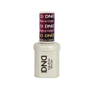 DND - Mood Change Gel - Plum to Grape 0.5 oz - #D21