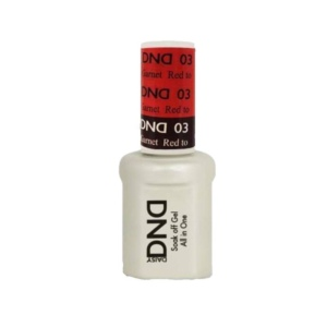 DND - Mood Change Gel - Red to Garnet 0.5 oz - #D03