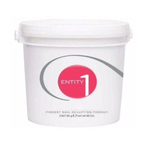 ENTITY Nail Acrylic Sculpting Powder *PINKEEST* - Size 5 Lbs Bucket