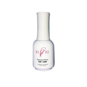 Apple, Kiki Diamond Shine Gel Top Coat (No Wipe/Soak-Off), 0.5 Oz KK0824
