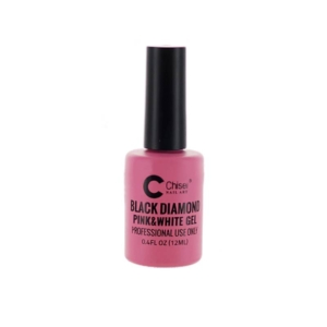 Chisel Black Diamond Pink & White Gel, 0.4 Oz OK0128MD