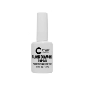 Chisel Black Diamond Top Gel, 0.4 Oz KK1227