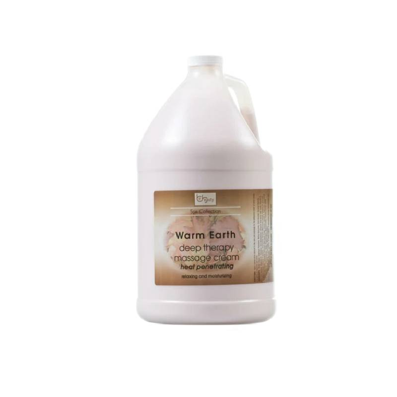 Be Beauty Spa Collection, Deep Therapy Massage Cream, CMSS161G1, Warm Earth, 1Gallon KK0511