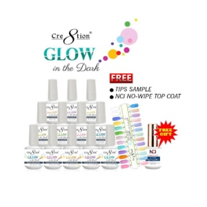 Glow in The Dark Gel, 0.5 Oz, Full Line Of 24 Colors (from G01 to G24) KK1214