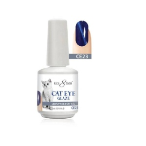 Cre8tion Cat Eye Glaze Gel Polish, 0916-0472, 0.5 Oz, CE23 KK1010