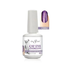 Cat Eye Chameleon Gel Polish, 0916-0572, 0.5 Oz, CE02 KK1010