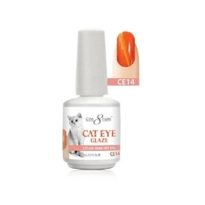 Cat Eye Glaze Gel Polish, 0916-0463, 0.5 Oz, CE14 KK1010