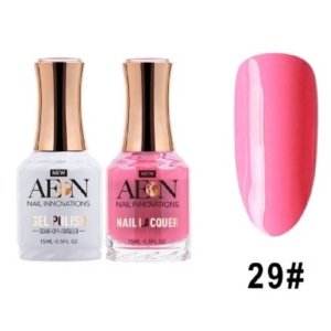 Aeon Gel Polish + Nail Lacquer, 029, Oh Yeah, That's Hot, 0.5 Oz OK0326LK