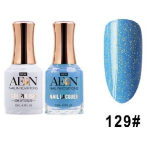 Aeon Gel Polish + Nail Lacquer, 129, April Shower, 0.5 Oz OK0326LK
