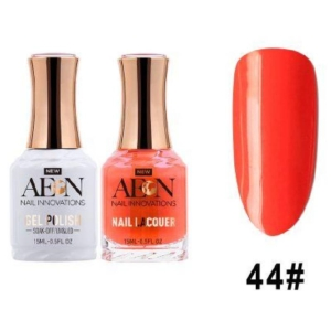 Aeon Gel Polish + Nail Lacquer, 044, PS I Love You, 0.5 Oz OK0326LK