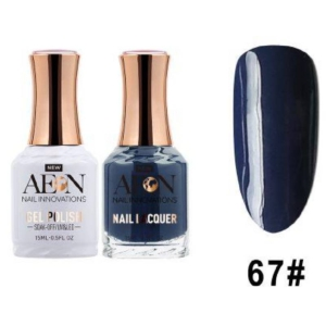 Aeon Gel Polish + Nail Lacquer, 067, Open Sea, 0.5 Oz OK0326LK
