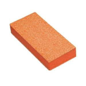 Cre8tion Buffer 2-Way Orange Foam, White Grit 80/100, 500 pcs, 06045 KK1217