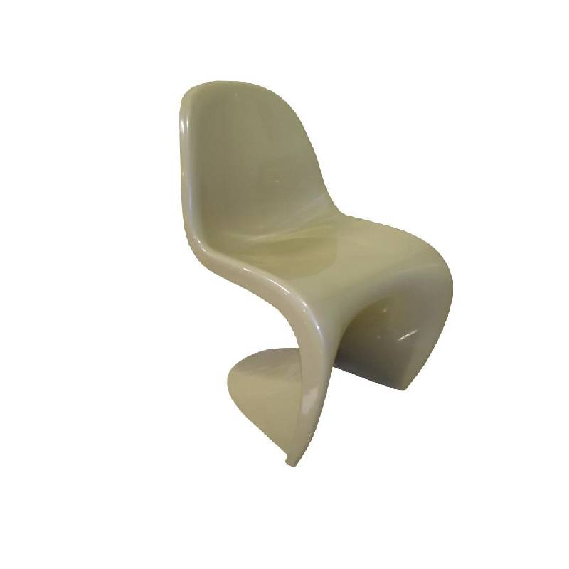 Cre8tion Fiberglass Waiting Chair, Coffee, WC001CO (NOT Included Shipping Charge)