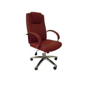Cre8tion Guest Chair, Bright Burgundy, GC003BB (Not Included Shipping Charge)