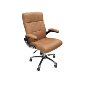 Cre8tion Guest Chair, Cappuccino, GC007CA (Not Included Shipping Charge)