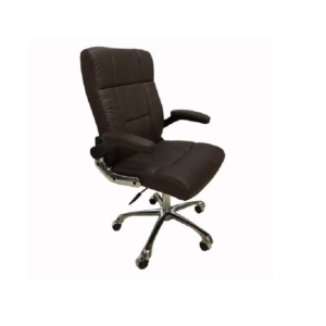 Cre8tion Guest Chair, Chocolate, GC007CE (Not Included Shipping Charge)
