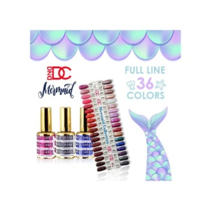 DC Gel Mermaid Collection, 0.6 Oz, Full Line of 36 Colors (From 218 to 253) OK0323VD