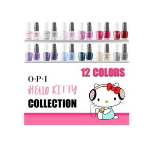 OPI GelColor And Nail Lacquer, Hello Kitty Collection, Full Line Of 12 Colors (From HPL01 To HPL11 and H82) OK0913VD