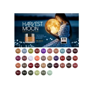SNS Gelous Dipping Powder, Harvest Moon Collection, Full Line of 36 Colors (From HM01 To HM36) OK1008VD
