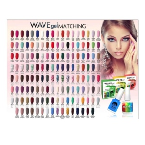 Wave Gel Nail Lacquer + Gel Polish, 0.5 Oz, Full Line of 160 Colors (From 050 to 210) KK1113