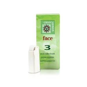 Face Small Roller Heads (3 Pack)