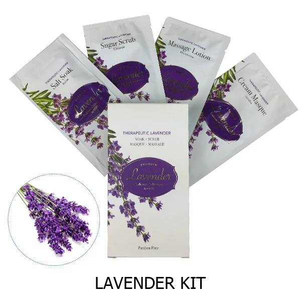 Codi Lavender Pedicure Set 4 Steps