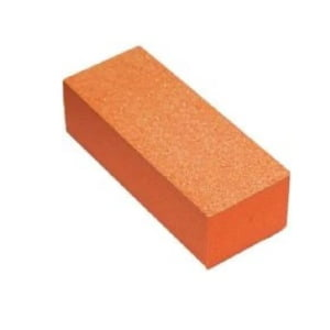 Buffer 3-Way Orange Foam, White Grit 80/100, 500 pcs