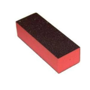 Buffer 3-Way Orange Foam, Black Grit 80/100, 500 pcs
