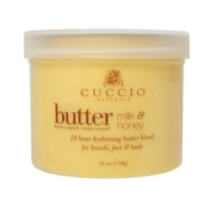 Cuccio Naturale Butter Blend Hydrating Treatment for Hand, Feet & Body Milk & Honey 26 oz