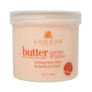 Cuccio Naturale Butter Blend Hydrating Treatment for Hand, Feet & Body Papya & Guava Nector 26 oz.