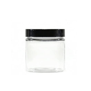 Empty Jar Crystal Clear 4Oz