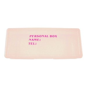 Personal Nail Implements Box Size Big (Pink)