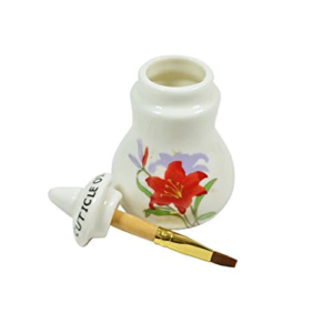 Small Cuticle Oil Jar With Brush
