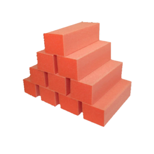 Orange White 3-Way Buffer 80-100 (10pcs/Pack)