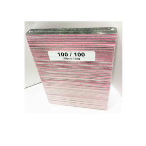 Black Sand Jumbo With Pink Line 100/100 50pcs