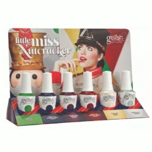 Gelish Little Miss Nutcracker Holiday 2017 Collection - 6pc (No Display)