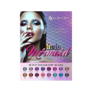 Holo Mermaid Gel & Lacquers Whole Set 16 Colors