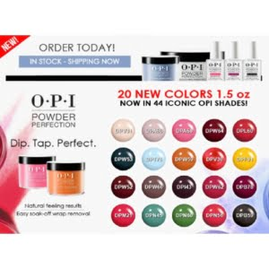 Dipping Powder 20 New Colors 1.5oz