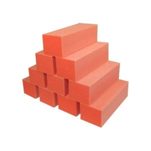 Orange Buffer White Grit Premium 3-Way 80/80