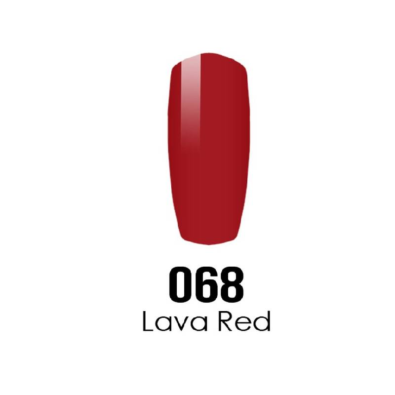 DC Duo Gel #068 LAVA RED