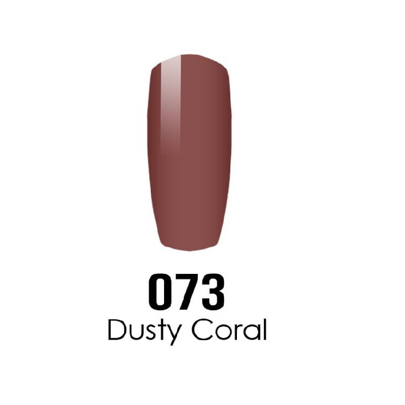 DC Duo Gel #073 DUSTY CORAL