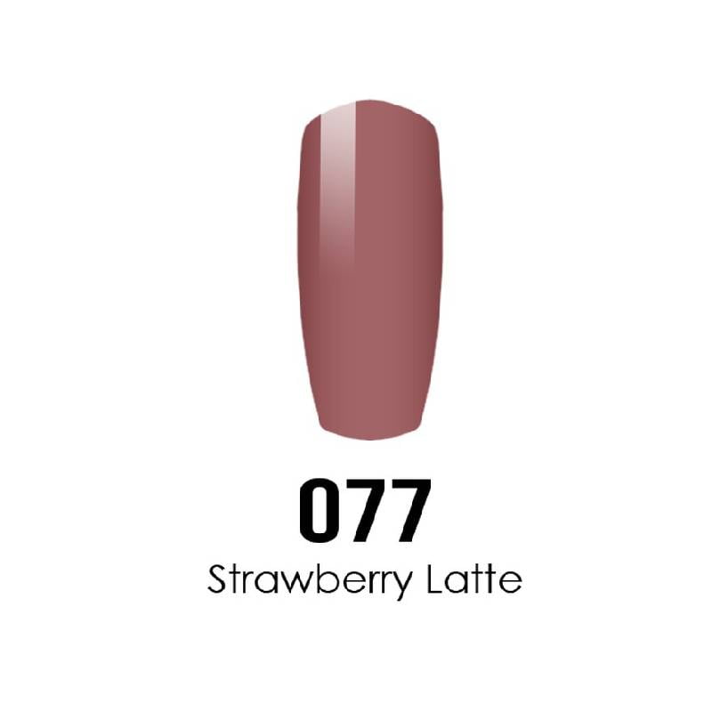 DC Duo Gel #077 Strawberry Latte