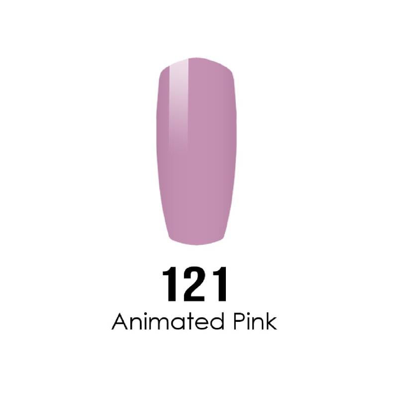 DC Duo Gel #121 ANIMATED PINK