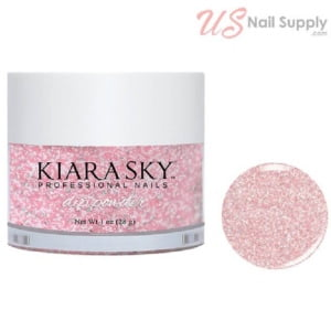 Kiara Sky Dip Powder 1 Oz, Pinking of Sparkle D496