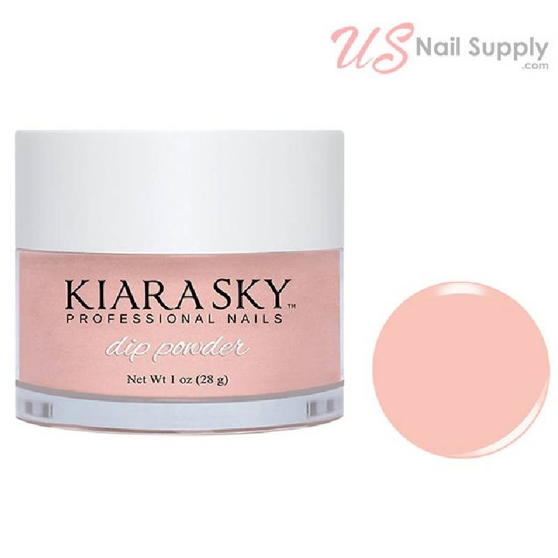 Kiara Sky Dip Powder 1 oz, TICKLED PINK D523
