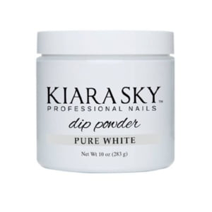 Kiara Sky Dip Powder 10 Oz, Pure White