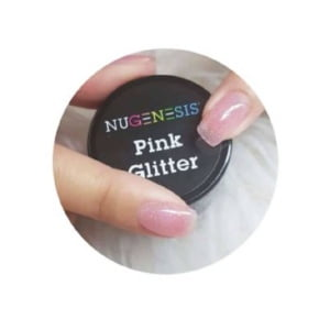 Color Powder - NU Pink Glitter 4 Oz
