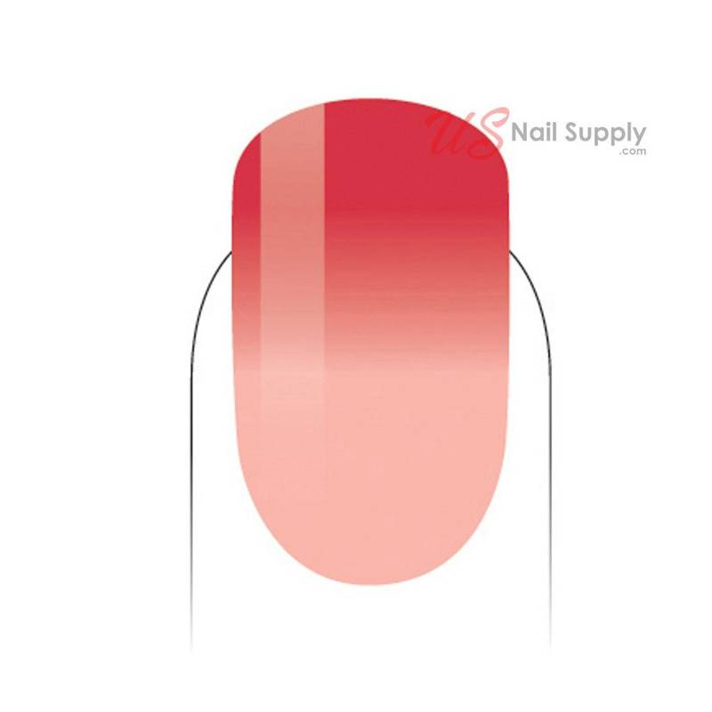 Mood Color Changing Gel Polish Crushed Coral MPMG55