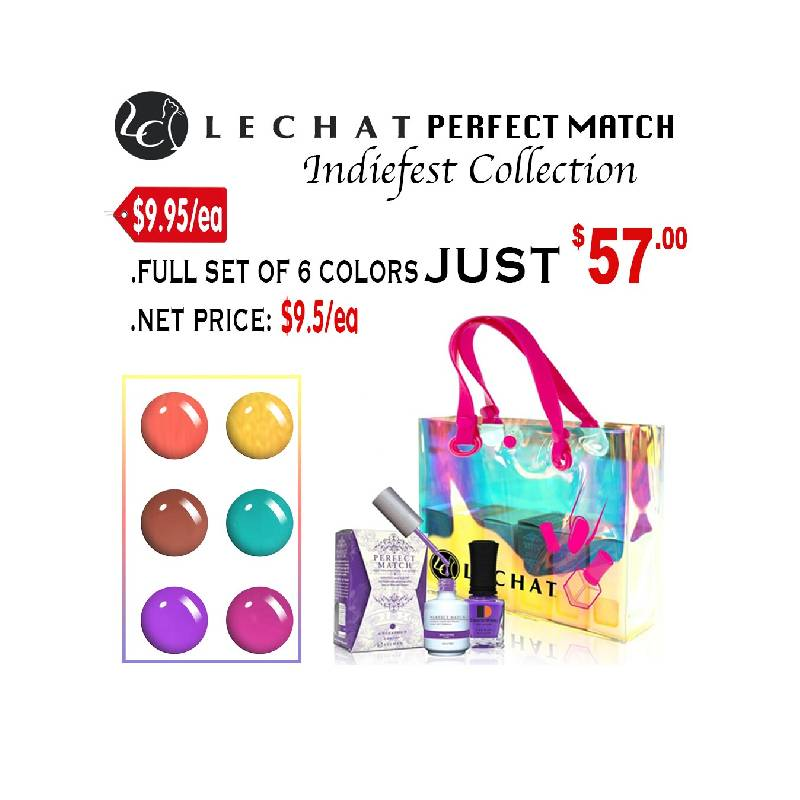 Perfect Match Indiefest Collection Full Set of 6 Colors