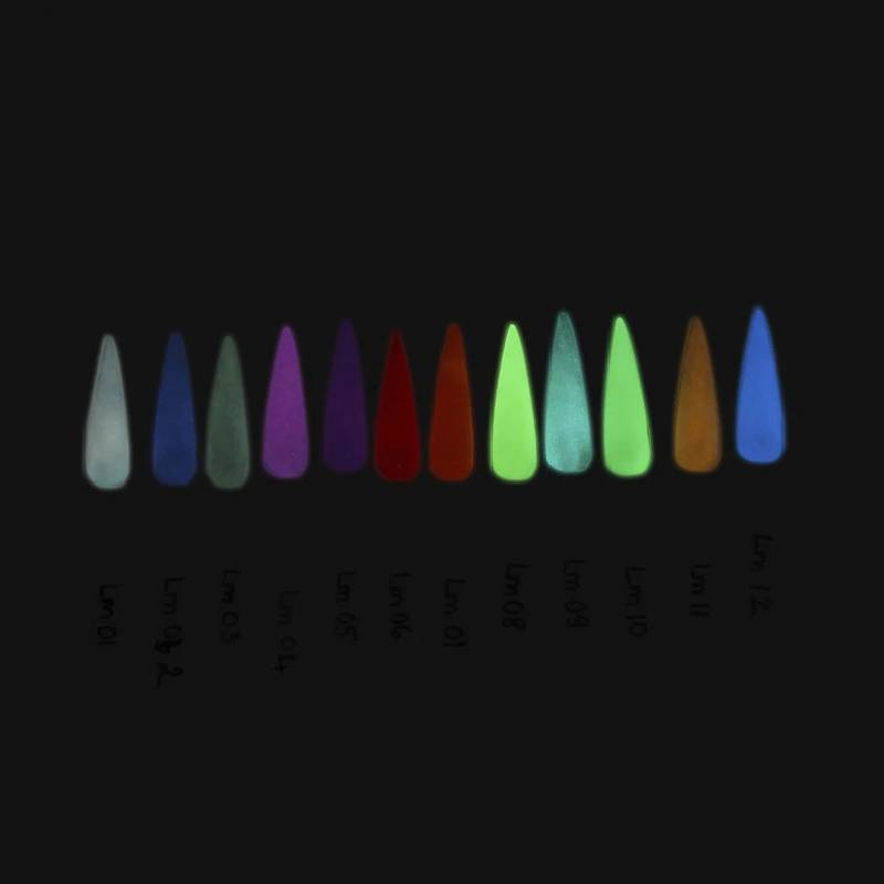 Nitro Luminous Collection Set of 12 Colors + Free Sample Tip